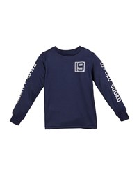Ralph Lauren Long Sleeve Performance Jersey T Shirt Navy