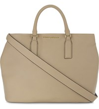 Kurt Geiger London Chelsea Leather Tote Bag Beige