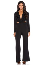 Riller And Fount Shelby Jumpsuit Black
