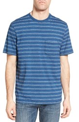 True Grit Men's Stripe T Shirt