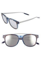 Christian Dior Men's Homme 'Black Tie' 52Mm Sunglasses Matte Havana Silver
