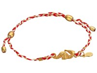 Alex And Ani Precious Thread Seahorse Bracelet Red Silver Bracelet Multi