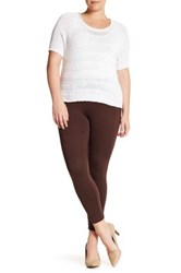 One 5 One Ponte Legging Brown