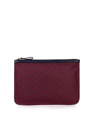 Pierre Hardy Cube Print Coated Canvas Pouch