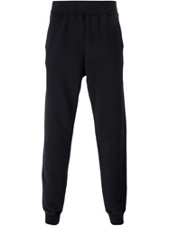 Tomas Maier Gathered Ankle Track Pants Blue