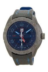 Luminox Men's 5121Gn Space Canvas Band Watch Gray