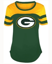 5Th And Ocean Women's Green Bay Packers Limited Edition Rhinestone T Shirt