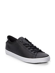 Penguin Lace Up Style Sneakers Black