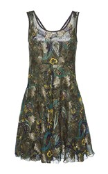Etro Sleeveless Mini Dress Print