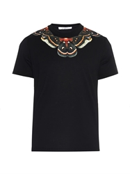 Givenchy Cuban Fit Butterfly Print T Shirt