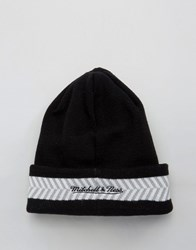 Mitchell And Ness Beanie Brooklyn Nets Black