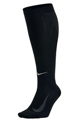 Nike Women's 'Elite' Knee High Socks Black Anthracite