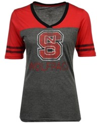 Colosseum North Carolina State Wolfpack Mctwist T Shirt Charcoal