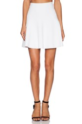 Parker Seda Knit Skirt White