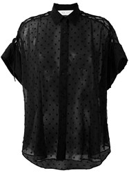 Iro Shortsleeved Shirt Black