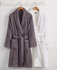 Hotel Collection Finest Modal Robe Luxury Turkish Cotton Created For Macy's Bedding Slate