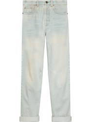 Gucci 80S Stone Washed Jeans Blue
