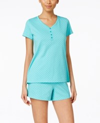 Charter Club Top And Boxer Pajama Set Only At Macy's