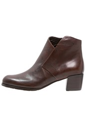Everybody Ankle Boots Whiskey Brown