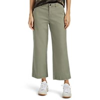 Atm Anthony Thomas Melillo Boyfriend Crop Trousers Green