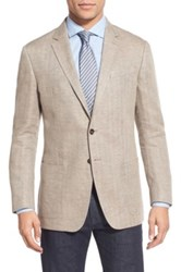 Todd Snyder Trim Fit Linen Blazer Metallic