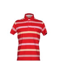 Heritage Polo Shirts Red
