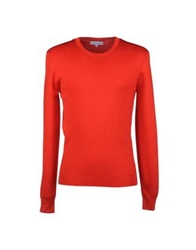 Jonathan Saunders Crewneck Sweaters Red