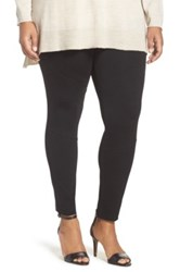 Vince Camuto Ponte Moto Leggings Plus Size Multi
