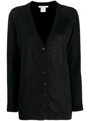 Stefano Mortari Colour Block Cardigan Black