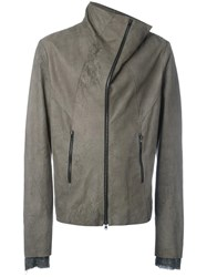 Lost And Found Ria Dunn Zip Up Jacket Grey