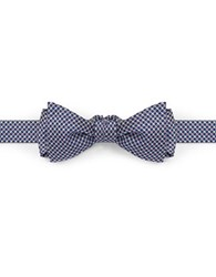 Brooks Brothers Gingham Bow Tie Blue