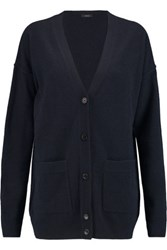 Joseph Wool Cardigan Midnight Blue