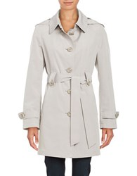 Gallery Belted Trenchcoat Whisper