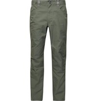 Patagonia Gritstone Rock Organic Cotton Blend Climbing Trousers Army Green