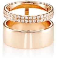 Repossi Women's Berbere Module Midi Cage Ring Red