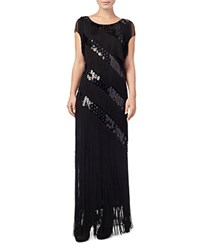 Phase Eight Annabeth Fringed Sequin Gown