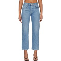 Gold Sign Goldsign Blue The Relaxed Straight Jeans
