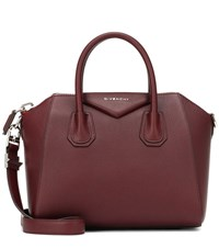 Givenchy Antigona Small Leather Tote Red