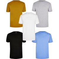 River Island Multicoloured Slim Fit T Shirt 5 Pack