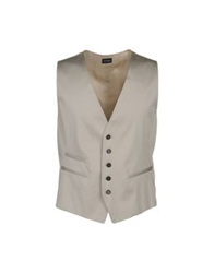 Gazzarrini Vests Light Grey