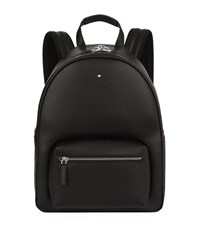 Montblanc Leather Backpack Black