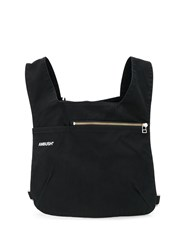 Ambush Logo Print Chest Bag Black