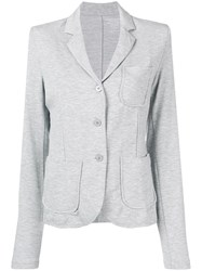 Majestic Filatures Long Sleeved Blazer Grey