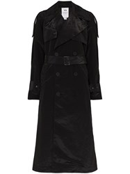 Y 3 Crepe De Chine Trench Coat 60