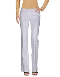 Exte Casual Pants White