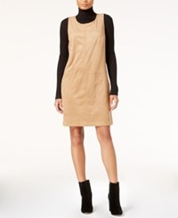 Maison Jules Faux Suede Shift Dress Only At Macy's Ginger Crisp