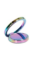 Rebecca Minkoff Ringed Stability Cell Phone Stand Oil Slick