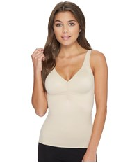 Miraclesuit Shapewear Cool Choice No Side Show Camisole Nude Underwear Beige