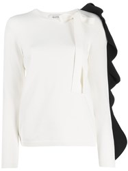 Valentino Frilled Sleeve Knitted Top 60