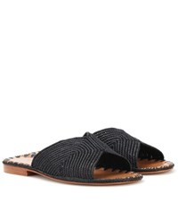 Carrie Forbes Salon Sandals Black